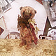 """Куклы и игрушки ручной работы. Выкройка мишка  23см.""""Трюфель"""". волшебный магазин Ольги Богачевой. Ярмарка Мастеров. Выкройка pdf"""