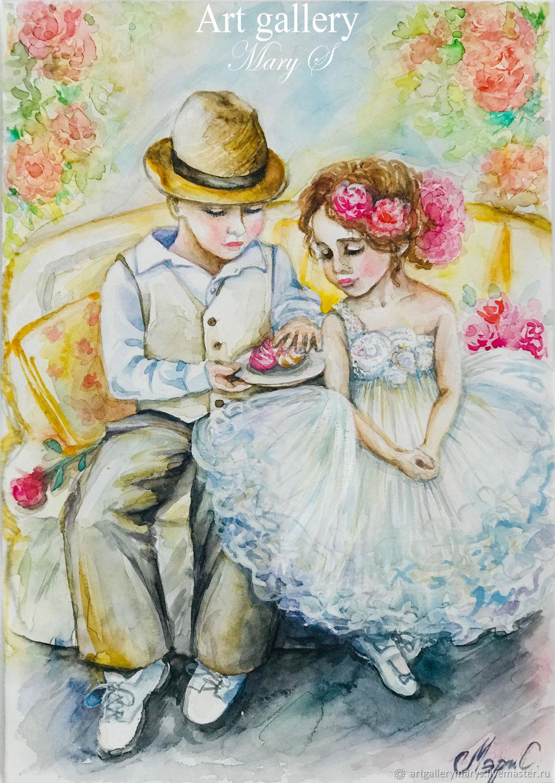 Открытки хорошего, открытки дети любовь