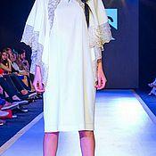 Одежда ручной работы. Ярмарка Мастеров - ручная работа Платье белое бабочка.. Handmade.