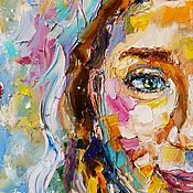 Картины и панно handmade. Livemaster - original item She&He portrait oil painting. Handmade.