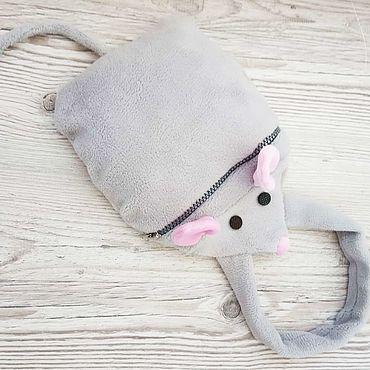 Мешочки для подарков: Сумка-конфетница в форме мышки