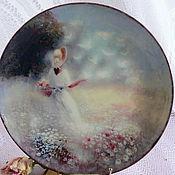 Посуда ручной работы. Ярмарка Мастеров - ручная работа Тарелочка Мечты о лете. Handmade.