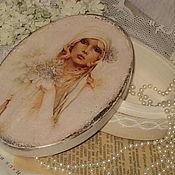 """Для дома и интерьера ручной работы. Ярмарка Мастеров - ручная работа Шкатулка """" Моя прекрасная леди"""". Handmade."""