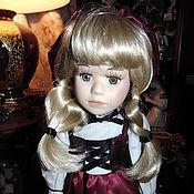 Винтажные куклы ручной работы. Ярмарка Мастеров - ручная работа Фарфоровая кукла коллекционная. Handmade.