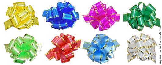 Упаковка ручной работы. Ярмарка Мастеров - ручная работа. Купить Бант-шар для упаковки. Handmade. Бант, бант из ленты