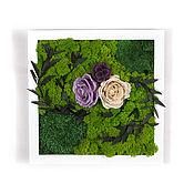 Картины и панно handmade. Livemaster - original item Painting of moss 2.0. Handmade.