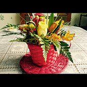 Подарки к праздникам ручной работы. Ярмарка Мастеров - ручная работа Букеты любой категории сложности!!!!. Handmade.