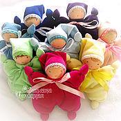 Куклы и игрушки ручной работы. Ярмарка Мастеров - ручная работа Текстильная кукла-бабочка. Handmade.