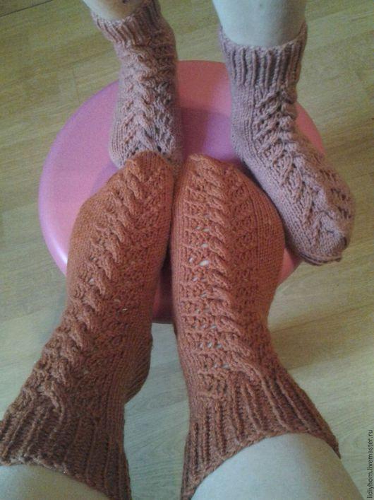 Носки, Чулки ручной работы. Ярмарка Мастеров - ручная работа. Купить носки для всей семьи. Handmade. Бежевый, носки ручной работы