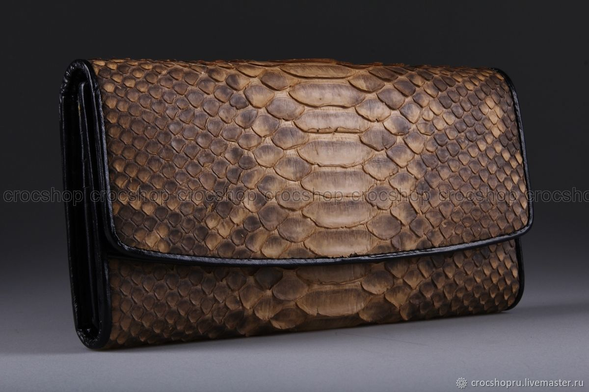 Purse made from Python IMP0048L, Wallets, Moscow,  Фото №1