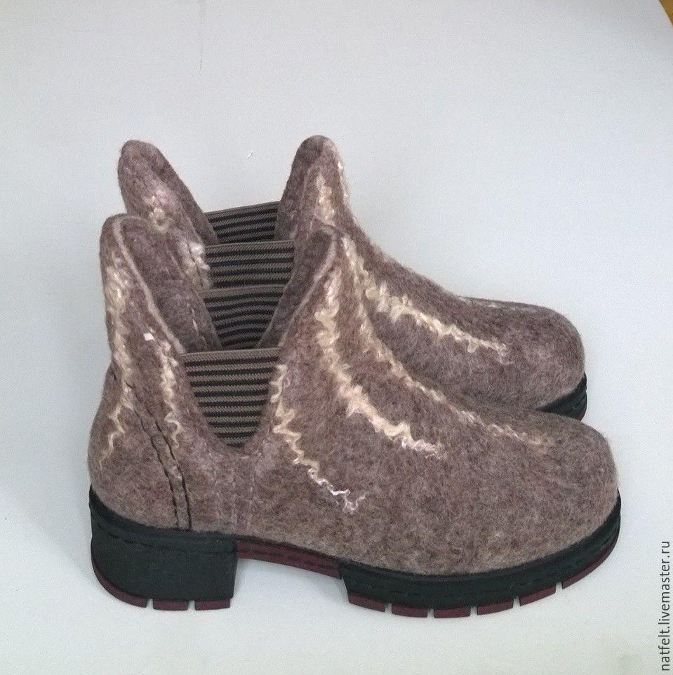 8a2c758b8 Обувь ручной работы. Ярмарка Мастеров - ручная работа. Купить Валяные  ботинки