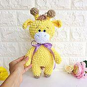 Куклы и игрушки ручной работы. Ярмарка Мастеров - ручная работа Плюшевый жираф. Handmade.