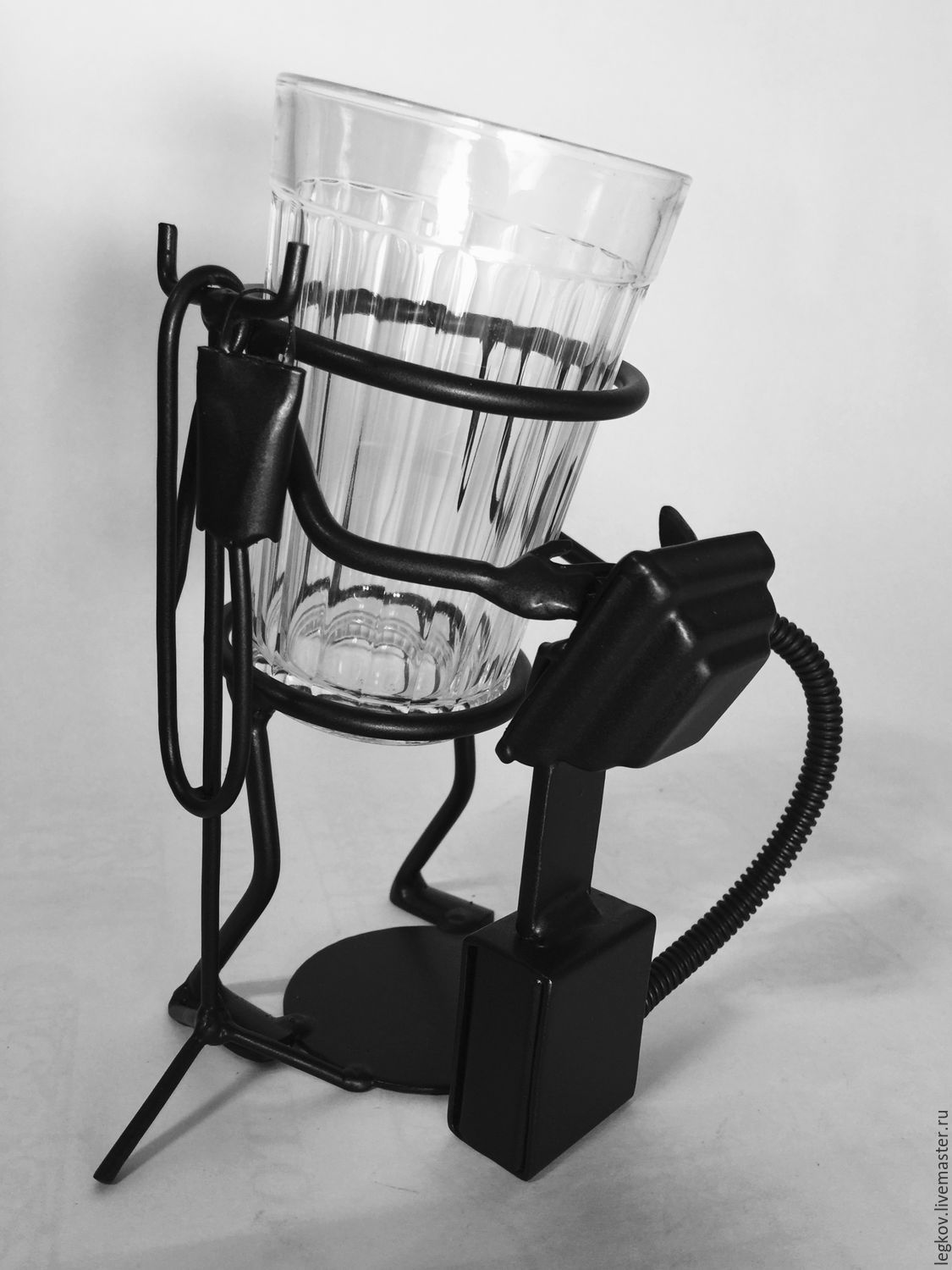 Holder 'Doctor resuscitator-anesthesiologist', Water Glasses, Kolchugino,  Фото №1