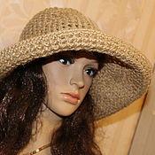 Аксессуары handmade. Livemaster - original item Summer hat openwork of jute. Handmade.