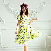 Одежда ручной работы. Ярмарка Мастеров - ручная работа Шёлковое платье. Handmade.