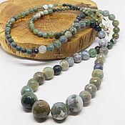 Работы для детей, handmade. Livemaster - original item Long Beads Mysterious Forest 90 cm. Handmade.