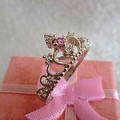 Украшения handmade. Livemaster - original item Ring Crown 1. Handmade.
