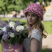 Летняя цветочная шляпа Роза