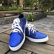 Обувь ручной работы handmade. Livemaster - original item Sneakers from Python. Handmade.