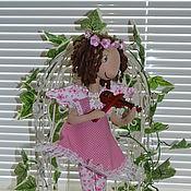 Куклы и игрушки ручной работы. Ярмарка Мастеров - ручная работа Маленькая скрипачка-Ангел. Handmade.