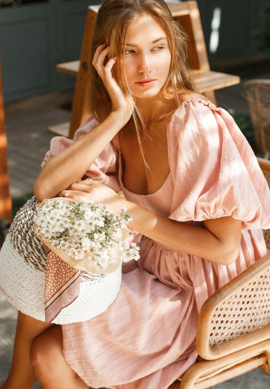 Strawberry Fields. Чудесное мини-платье с рукавами буфф, Платья, Москва,  Фото №1