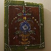Картины и панно ручной работы. Ярмарка Мастеров - ручная работа Интерьерная картина на старых досках. Handmade.