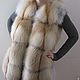 Jacket with fur Siberian red Fox. Solid, Vests, Omsk, Фото №1