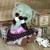 Куклы и игрушки handmade. Livemaster - original item Bear bead toy. Handmade.