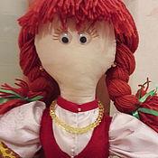 Куклы и игрушки ручной работы. Ярмарка Мастеров - ручная работа Кукла-пакетница Катя. Handmade.
