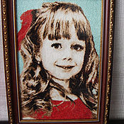 Картины и панно handmade. Livemaster - original item Embroidery From Your Photo. Handmade.
