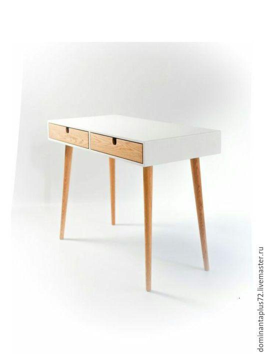 Мебель ручной работы. Ярмарка Мастеров - ручная работа. Купить Туалетный столик. Handmade. Натуральное масло, дуб, Дуб