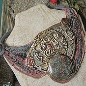 """Украшения ручной работы. Ярмарка Мастеров - ручная работа """"Foggy Roses ash""""  колье-воротничок. Handmade."""