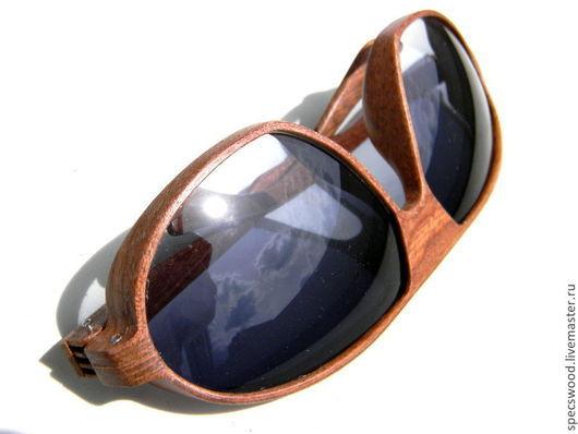 Очки ручной работы. Ярмарка Мастеров - ручная работа. Купить Солнцезащитные очки из дерева № 38. Handmade. Очки из дерева