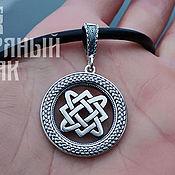 Украшения handmade. Livemaster - original item Amulet Star Frets. Slavic Silver 925 art.One million eleven thousand three hundred two. Handmade.