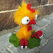 Петушонок Прошка ) - вязаная игрушка, вязаный петух