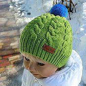 """Работы для детей, ручной работы. Ярмарка Мастеров - ручная работа """"Весна на пороге!))) -шапочка (итальянский меринос). Handmade."""