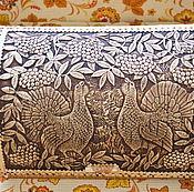 """Хлебницы ручной работы. Ярмарка Мастеров - ручная работа Хлебница  """"Глухари"""". Handmade."""