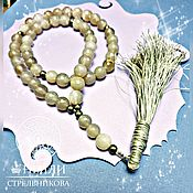 Фен-шуй и эзотерика handmade. Livemaster - original item Orthodox sacred beads of faceted agate with a brush on 50 beads. Handmade.
