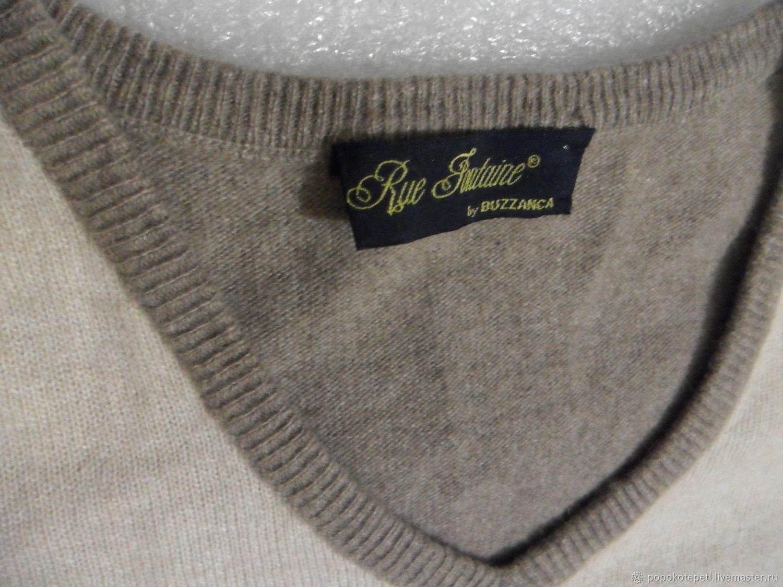Винтаж: Джемпер винтажный ,шерсть с кашемиром,винтаж Италия,размер 46-48, Винтажная одежда, Новороссийск, Фото №1