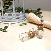 Украшения handmade. Livemaster - original item Jar earrings with Real Dandelion Seeds Make a Wish. Handmade.