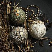Для дома и интерьера ручной работы. Ярмарка Мастеров - ручная работа Коллекция Новогодних шаров. Handmade.