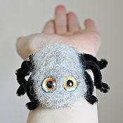 Куклы и игрушки ручной работы. Ярмарка Мастеров - ручная работа Паук Гоша - войлочная игрушка - паук декоративная фигурка. Handmade.