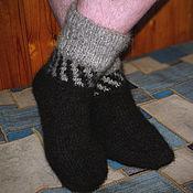 Аксессуары handmade. Livemaster - original item Men`s knitted socks. Handmade.