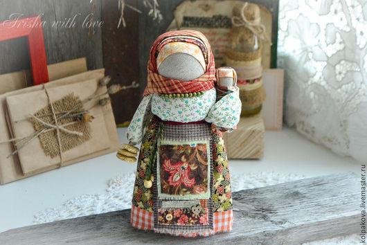 """Народные куклы ручной работы. Ярмарка Мастеров - ручная работа. Купить кукла Масленица Домашняя """"Весна-красна"""".. Handmade."""