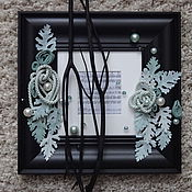 Картины и панно ручной работы. Ярмарка Мастеров - ручная работа Бирюзовая соната волшебного леса. Handmade.