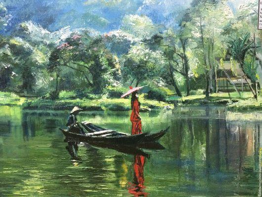 Индонезия. На озере