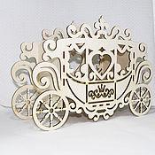 Подарки к праздникам ручной работы. Ярмарка Мастеров - ручная работа Карета для принцесс. Handmade.