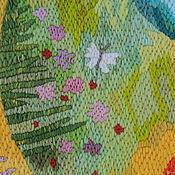 Картины и панно handmade. Livemaster - original item Embroidery .Awakening. Handmade.