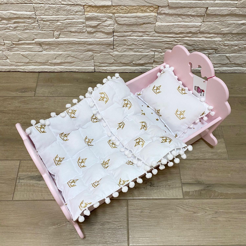 Кроватка для куклы, Мебель для кукол, Москва,  Фото №1