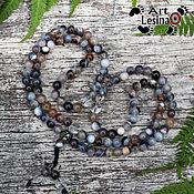 Фен-шуй и эзотерика handmade. Livemaster - original item Buddhist rosary made of Botswana agate and rock crystal, 108 grains. Handmade.